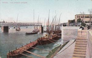 Egypt Cairo The Opened Bridge