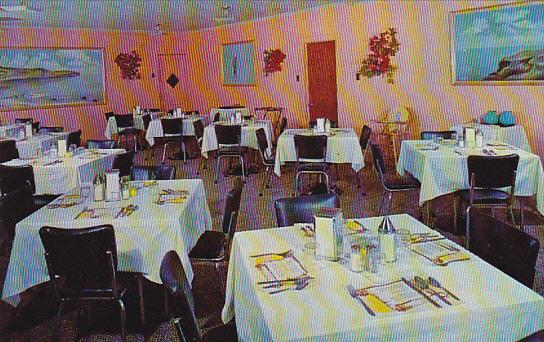 Canada Dining Room Hotel Motel Jacques Cartier Gaspe Quebec