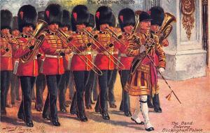 The Band Buckingham Palace Harry Payne Artist Raphael Tuck Postcard