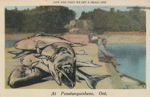 PENETANGUISHENE , Ontario, Canada, PU-1936; Now & Then We Get A Small One