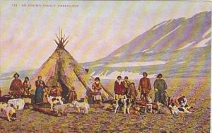 Greenland An Eskimo Family