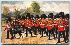 Harry Payne~London Military~Irish Guards~Regimental Pet Dog Brian Boru~Band~TUCK