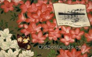S.S. Nagasaki Maru Nippon Yusen Kaisha Ship, NYK Shipping Postcard Postcards ...