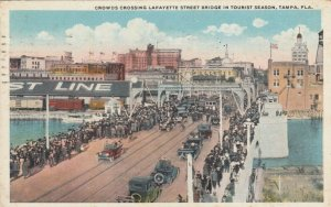 TAMPA , Florida , 1922 ; Lafayette Street Bridge