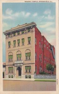 Illinois Springfield Masonic Temple 1959 Curteich