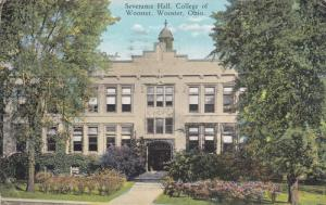 Severance Hall, College Of Wooster, WOOSTER, Ohio, PU-1923