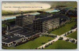 Dayton Ohio~Frigidaire Corporation Plant 1~Refrigerator Factory Birdseye~1944