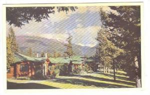The Cottages, Jasper, Alberta, Canada, 40-60s