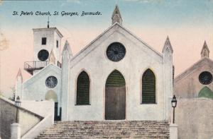 ST. GEORGES, Bermuda, 1900-1910's; St. Peter's Church