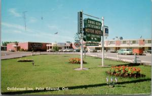 Guildwood Inn Point Edward Ontario ON Motor Hotel c1960 Postcard D48