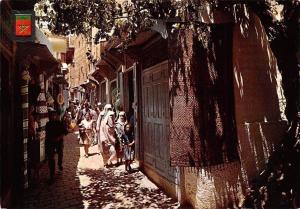 Morocco Maroc Fez Fes Calle de la Medina, Rue, Street