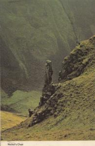 Yorkshire Shoe Cobbler Nichols Chair Bassalt Plinth Postcard