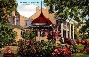 Mississippi Vicksburg Beautiful Ante Bellum Home