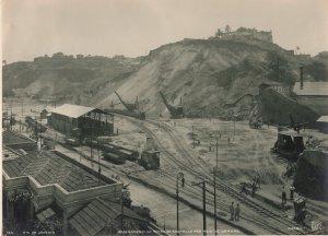 RP: RIO DE JANEIRO, Brazil, 1900-10s; Arrasammento Do Morro Do Gastello Por M...