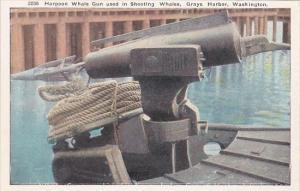 Harpoon Whale Gun Used In Shooting Whales Grays Harbor Washington
