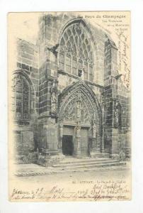 Le Portail De l'Eglise, Avenay (Calvados), France, PU-1902