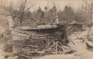 RP: MENDON , Vermont , 1927 ; Road After Flood : #2