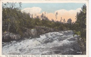 Chaudiere Fall Rapids , French River , Naer NORTH BAY , Ontario , Canada , PU...