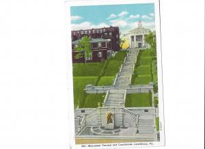 Monument Terrace and Courthouse Lynchburg Virginia