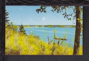 Miramichi River,Newcastle,NB,Canada Postcard BIN