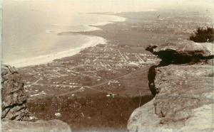 Aerial View C-1910 Sublime Point Sydney Australia RPPC Photo Postcard 1938