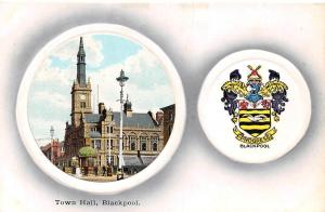 Blackpool Town Hall Rathaus Street Coat of Arms