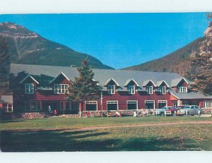 Pre-1980 LODGE MOTEL SCENE Waterton Park - Near Lethbridge Alberta AB AE0779