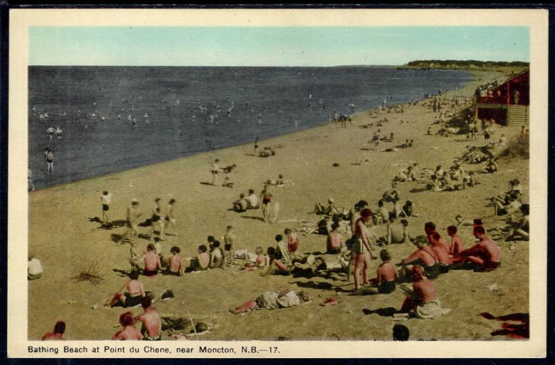 Bathing Beach at Point du Chene near Moncton,New Brunswick,Canada