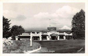 LPS78 Portland Oregon Simmons' Hillvilla Terwilliger Boulevard Postcard RPPC