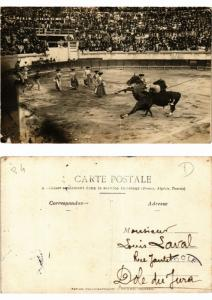 CPA Bullfighting - Bull Fight Scene - Photo Postcard (776033)