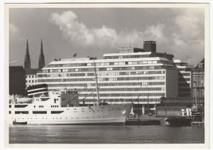 Finland; Helsinki, Palace Hotel RP PPC Unposted, c 1950's Note MV Aalotar