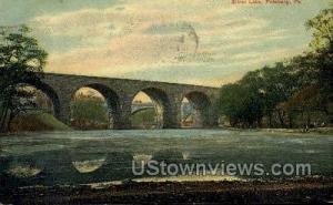 Silver Lake Pittsburgh PA 1910