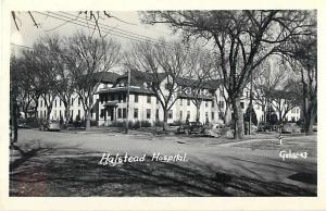 Halstead Hospital, Halstead Kansas, KS, RPPC