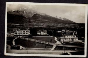 Czechoslovakia Vysoke Tatry Novy Smokovec Postcard Real Photo RP Ceskoslovensko