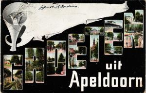 CPA Groeten uit APELDOORN NETHERLANDS (604726)