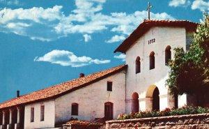 Vintage Postcard Mission San Luis Obispo de Tolosa Historical Roofing Tile CA