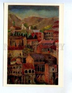 260270 GEORGIA Akhvlediani Tbilisi of Bygone Days 1976 year PC
