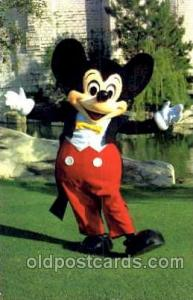 Mickey Mouse, Disney Postcard Post Card