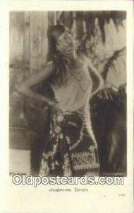 Josephine Baker Black Entertainer Unused