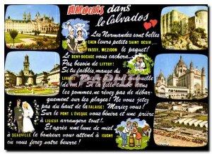 Postcard Modern Love in Calvados
