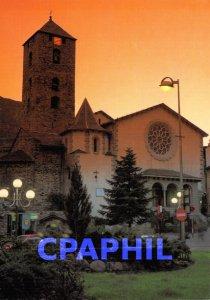 Postcard Modern PRINCIPAT OF ANDORRA Pla�a Pr�ncep Benloch