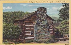 Typical Home In The Great Smoky Mountains National Park