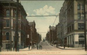 Wheeling WV Main St. at 12th c1910 Postcard