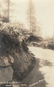 RP, GRANT PARK , California, 1900-10s ; State Highway