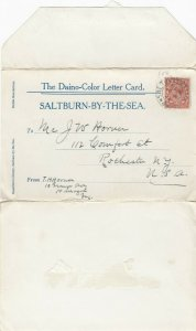 SALTBURN-BY-THE-SEA , England , UK ; 1928 ; Letter Card