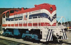 Trains South Buffalo Alco S2 Locomotive #76 In South Buffalo 12 August 1975