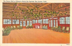San Jacinto California dance hall Gilman's Relief Hot Springs pc ZA440541