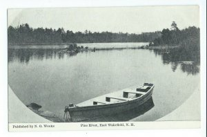 Postcard Pine River East Wakefield New Hampshire Unposted VPC02.