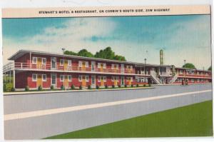 Stewart's Motel & Restaurant, Corbin KY