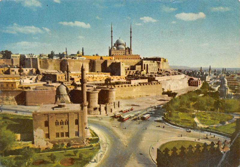 Egypt Cairo The Citadel and Mohamed Aly Mosque General view